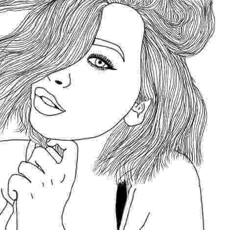 coloring pages for teen girls tumblr girl drawing free download on clipartmag pages for teen coloring girls