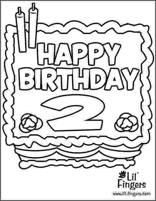 coloring pages for two year olds birthday coloring pages for 2nd birthday google search for pages coloring olds two year