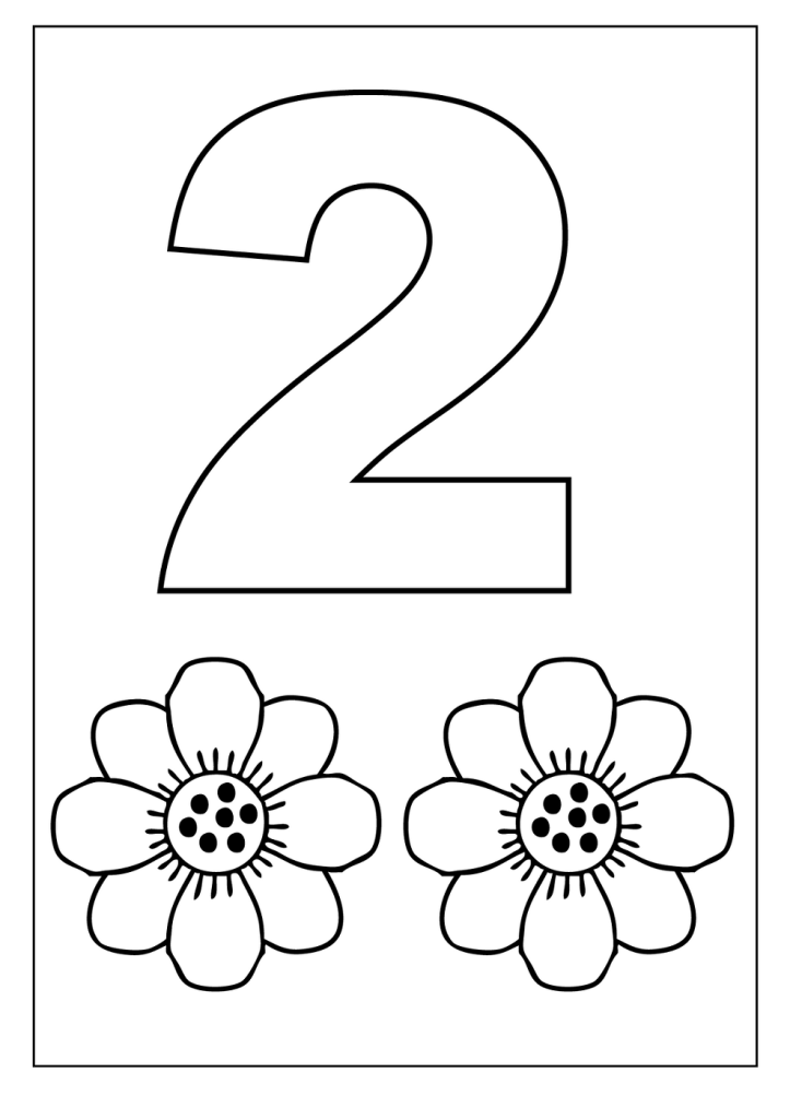 coloring pages for two year olds worksheets for 2 years old numbers preschool preschool pages for coloring two year olds