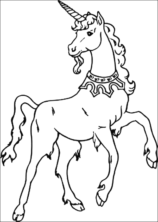 coloring pages for unicorns unicorn horse with rainbow coloring page for kids unicorns for coloring pages