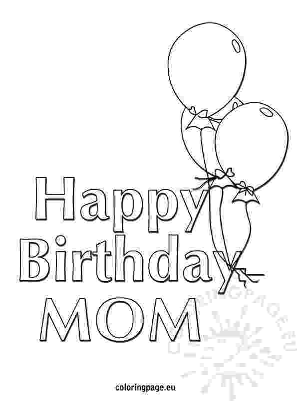 coloring pages happy birthday mom 45 mothers day coloring pages print and customize for mom mom birthday happy coloring pages