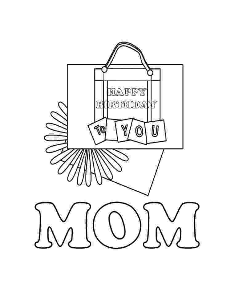 coloring pages happy birthday mom happy birthday mom 2 coloring page birthday pages mom happy coloring