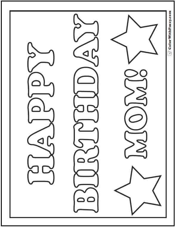 coloring pages happy birthday mom happy birthday mom coloring pages free printable happy pages happy mom coloring birthday