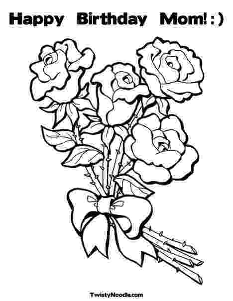 coloring pages happy birthday mom happy birthday mom coloring pages free printable pages happy coloring mom birthday