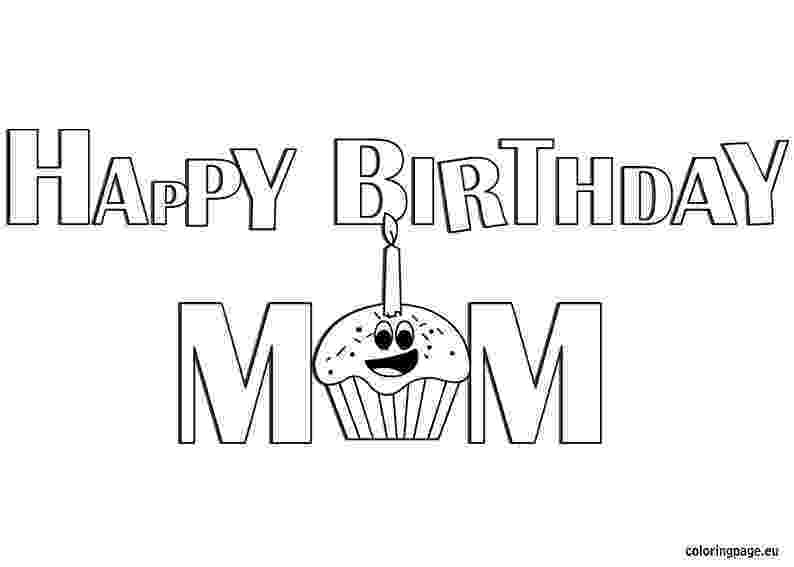coloring pages happy birthday mom happy birthday to the best mom coloring page twisty noodle coloring pages mom birthday happy