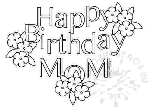 coloring pages happy birthday mom online coloring pages starting with the letter h page 2 mom birthday happy pages coloring