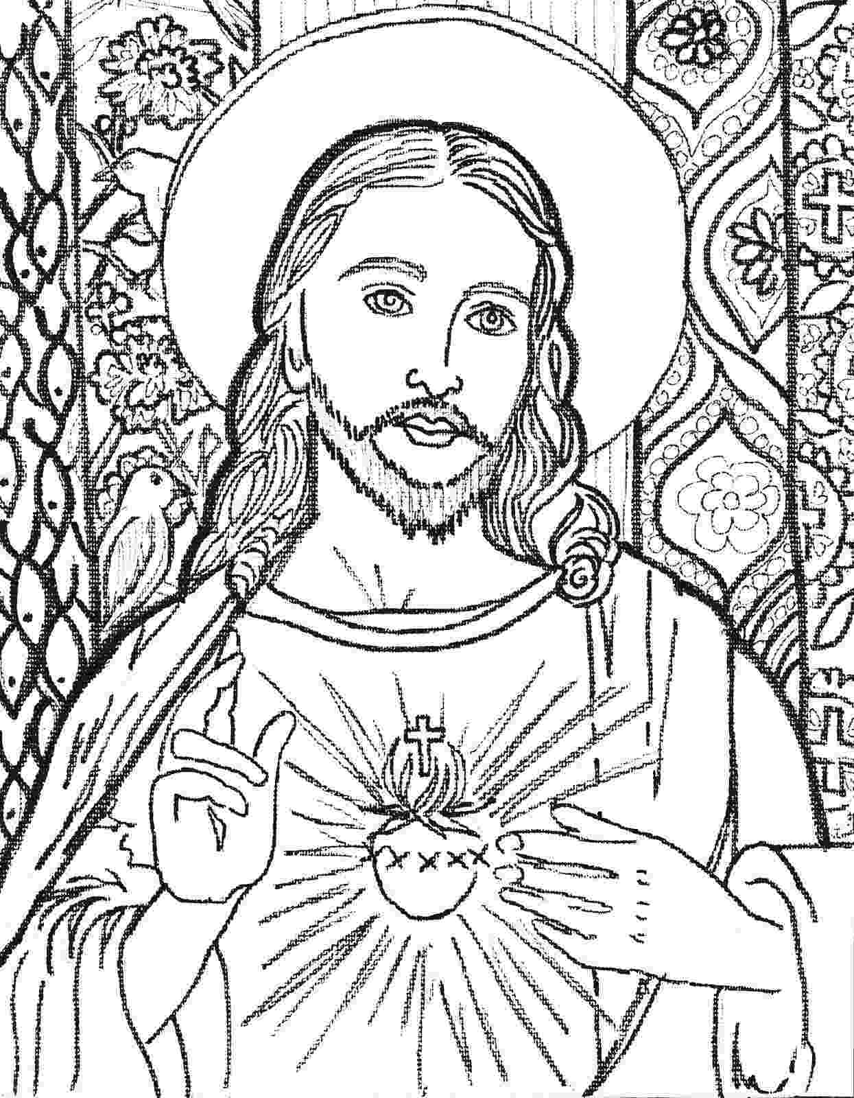 coloring pages jesus camilla spadafino art pages jesus coloring