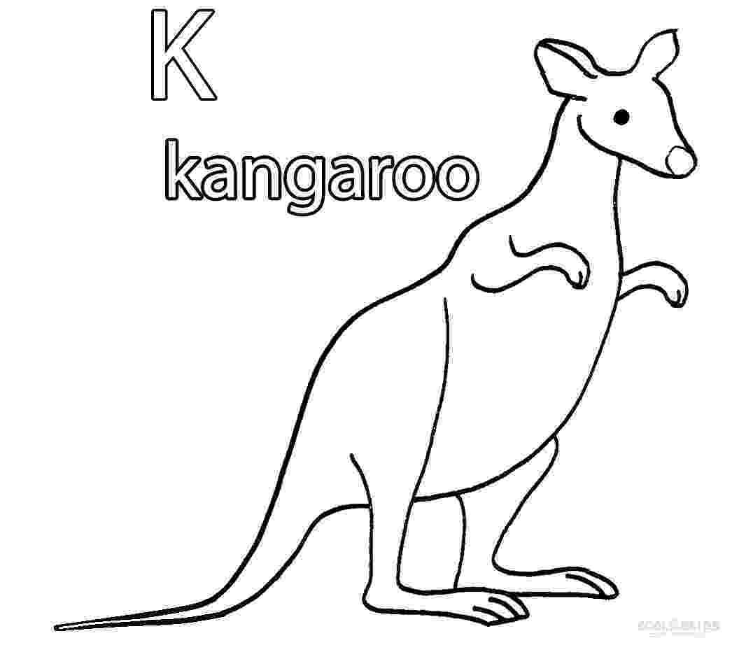 coloring pages kangaroo printable kangaroo coloring pages for kids cool2bkids coloring kangaroo pages 1 1