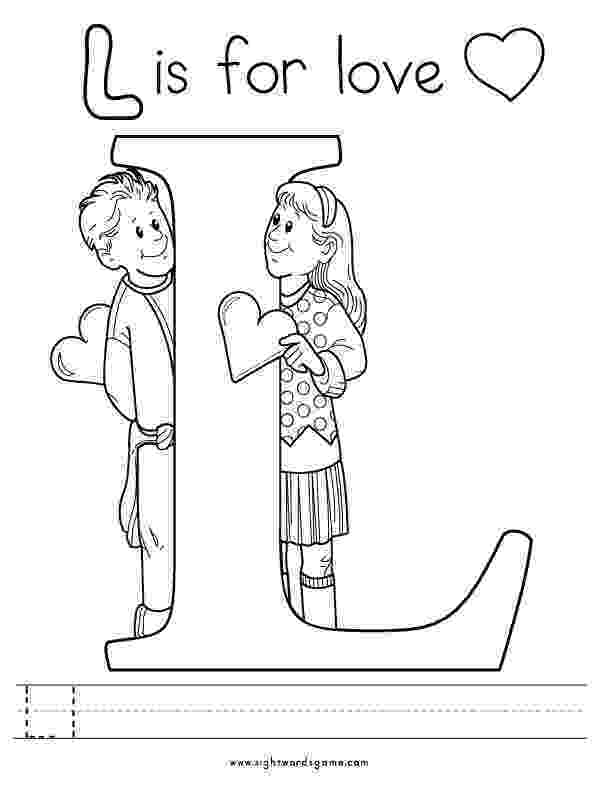 coloring pages letter l spikindergarten licensed for non commercial use only coloring pages l letter