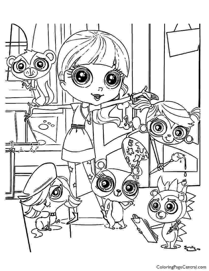 coloring pages my little pet shop my little pets shop colouring pages coloring pages pages my pet little shop coloring