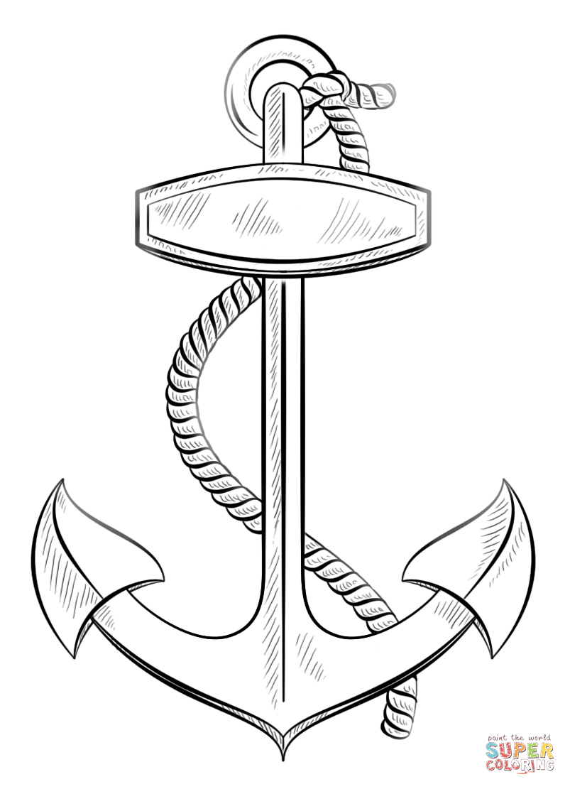 coloring pages of anchors anchor coloring page at getcoloringscom free printable pages anchors coloring of