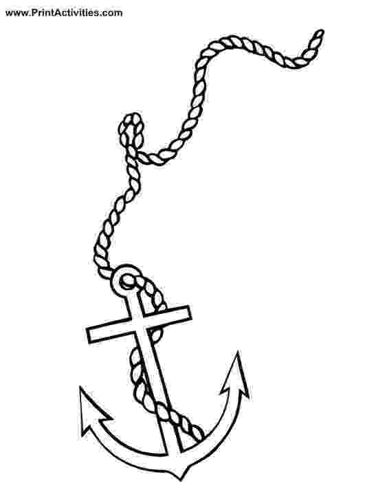 coloring pages of anchors free coloring page of an anchor coloringworldnet don of anchors coloring pages