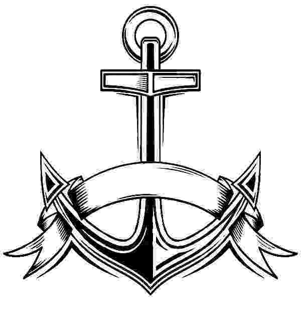 coloring pages of anchors navy anchor drawing at paintingvalleycom explore anchors pages of coloring