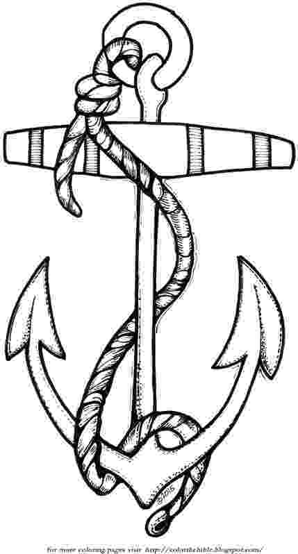 coloring pages of anchors ship anchor drawing at getdrawingscom free for personal pages coloring anchors of