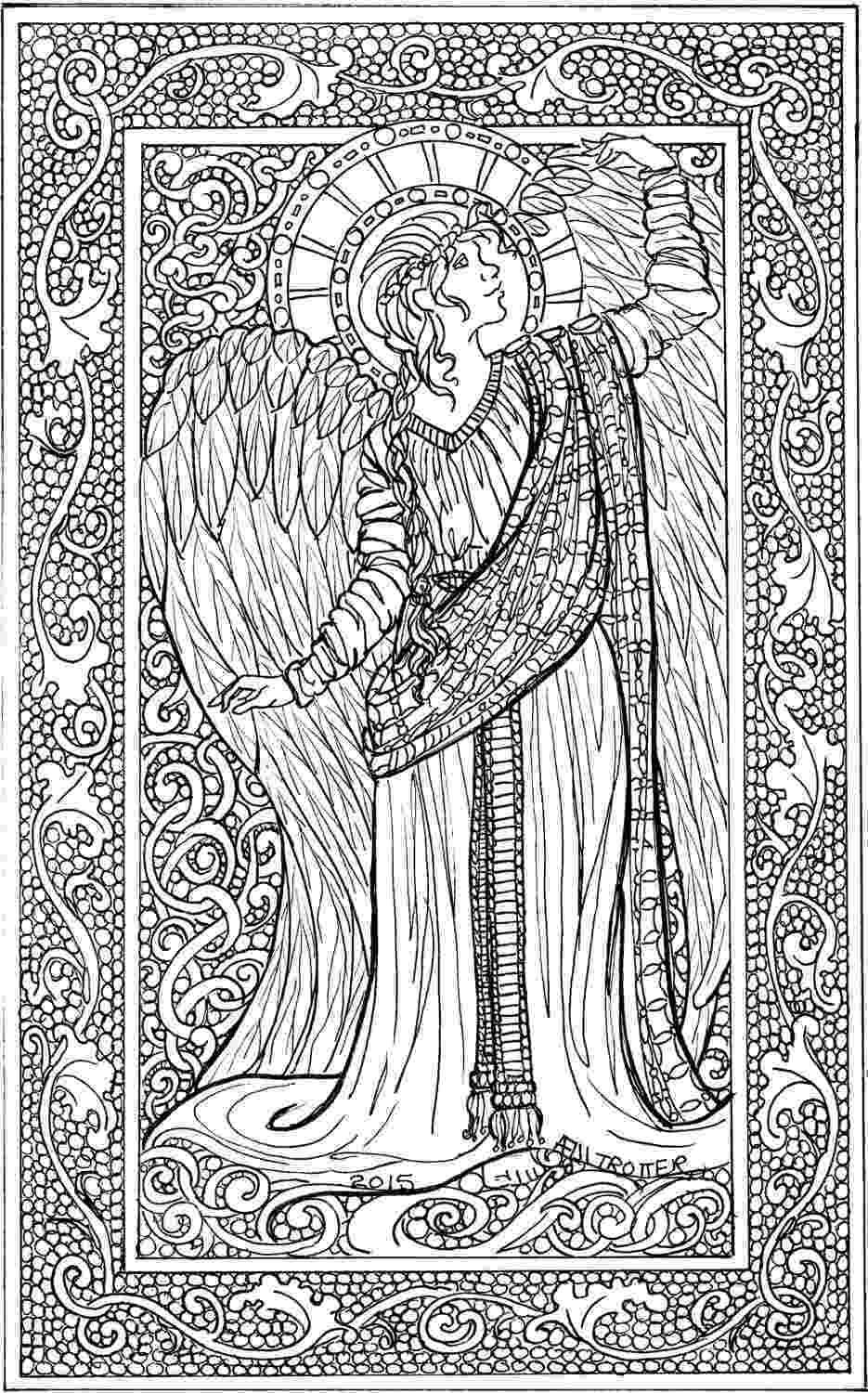coloring pages of angels 20 free printable angel coloring pages for adults pages angels coloring of