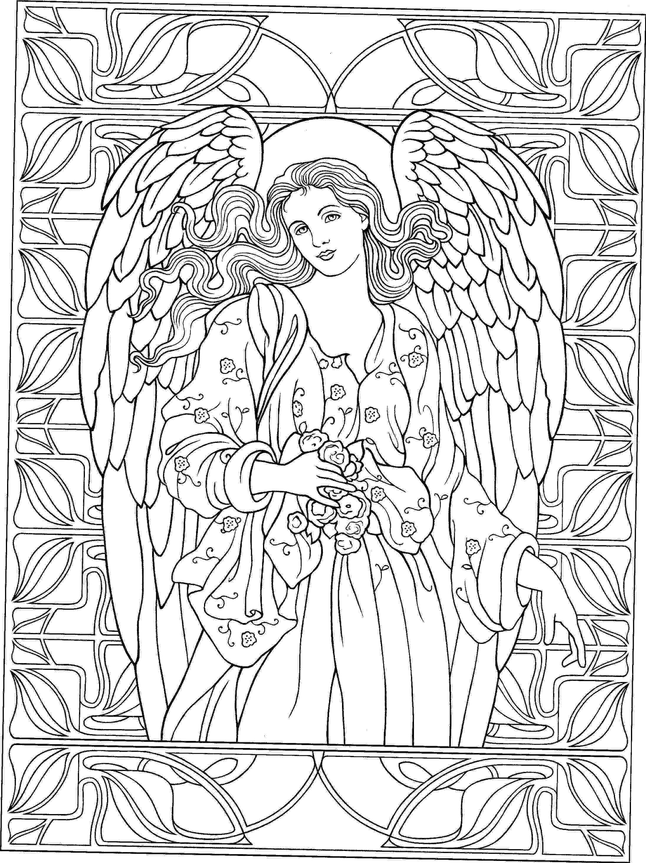 coloring pages of angels 3823e3973b2d9354e5eb55074cc59aa3jpg 21912927 Женский pages angels of coloring