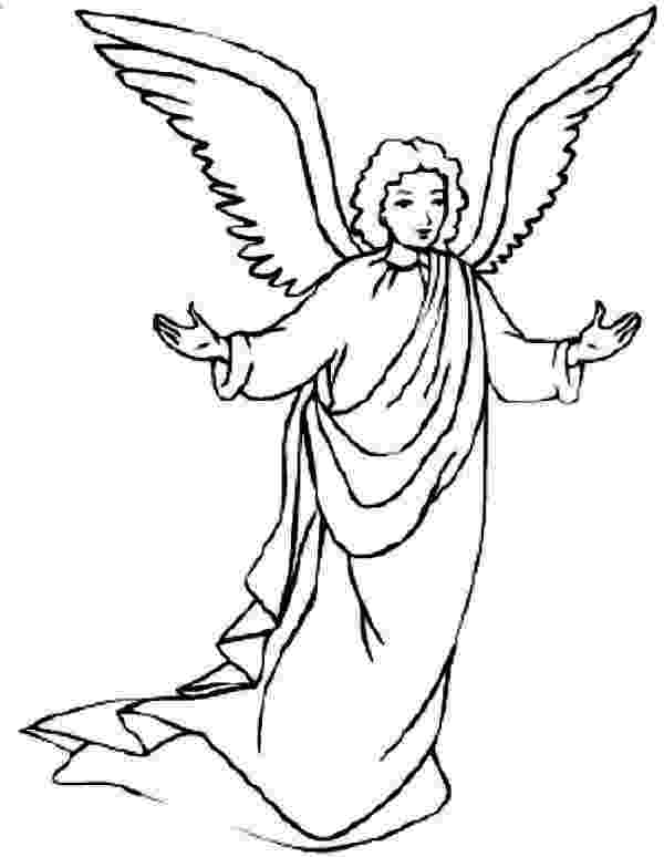 coloring pages of angels awesome picture of angels coloring page color luna pages of coloring angels