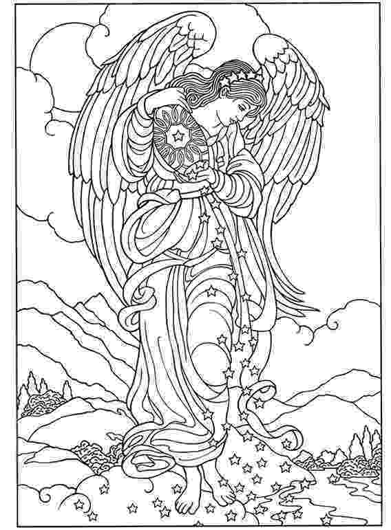coloring pages of angels coloring digital download angel amoung the by of angels coloring pages