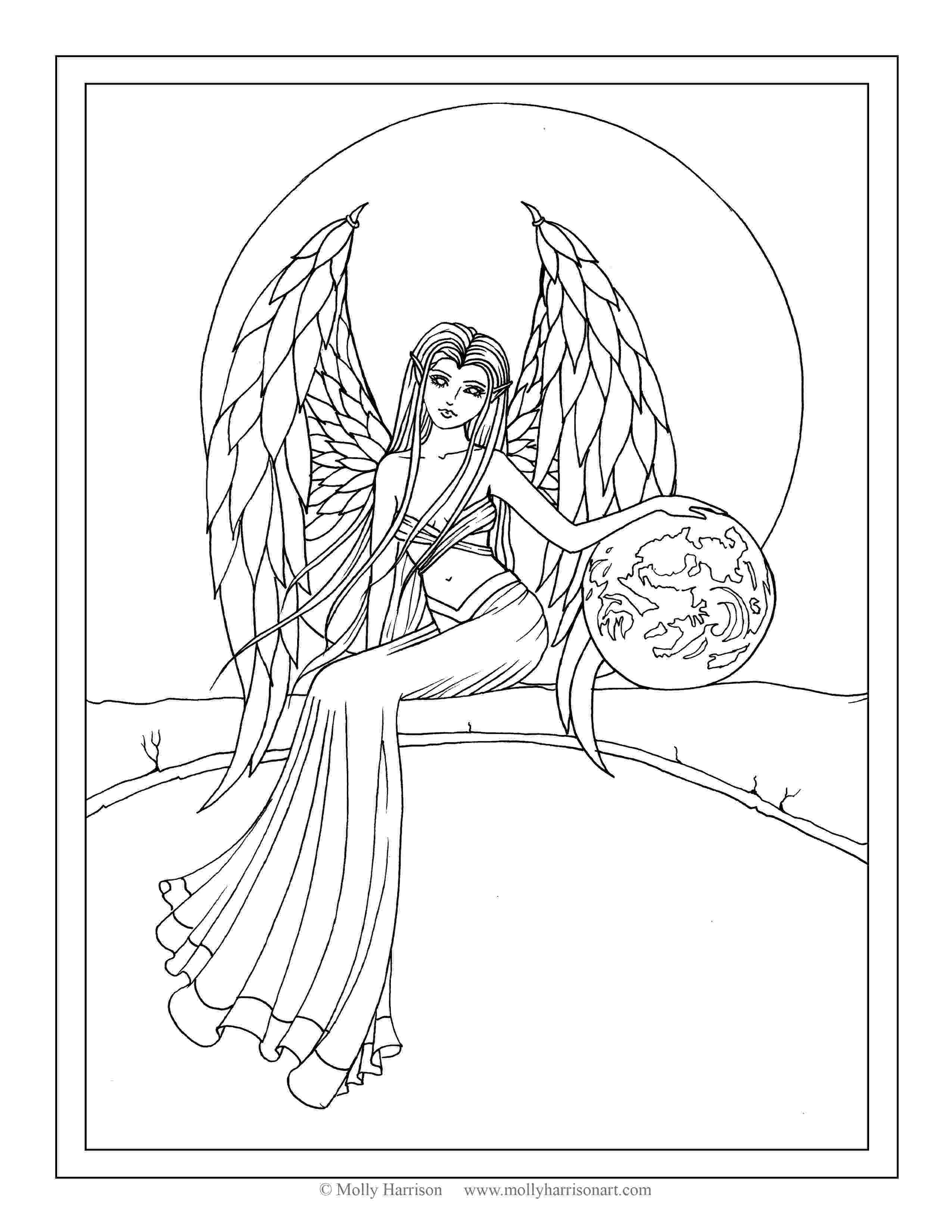 coloring pages of angels snow angel drawing at getdrawingscom free for personal pages of coloring angels