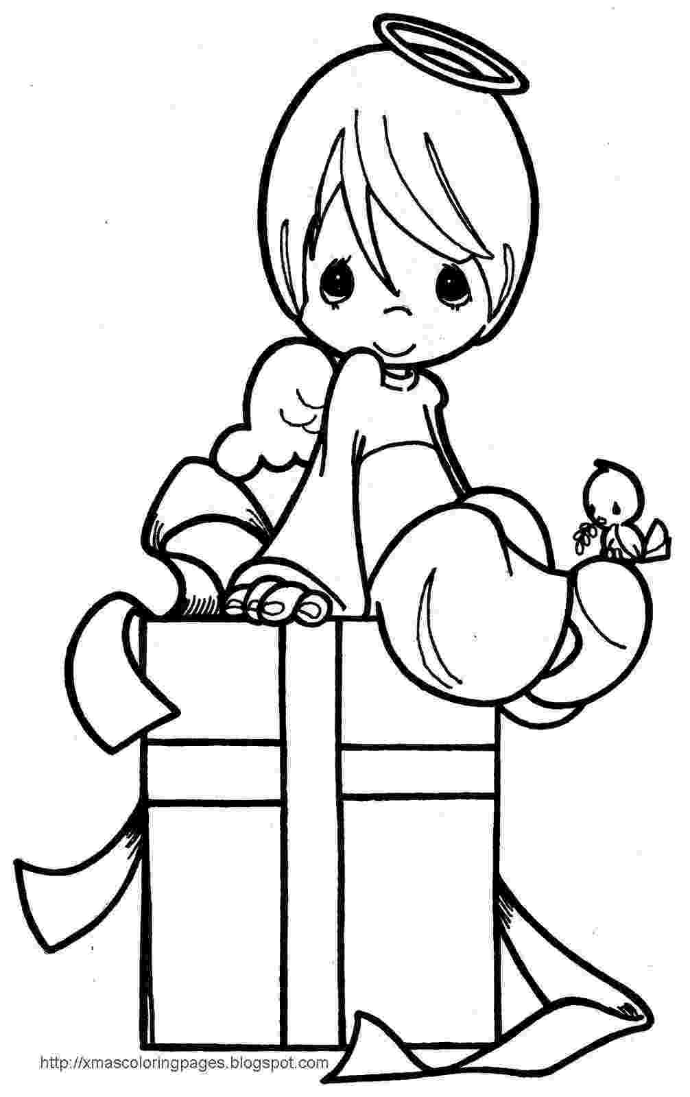 coloring pages of angels xmas coloring pages of pages angels coloring