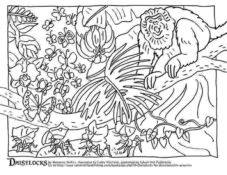 coloring pages of animals in their habitats animal adaptations biology and life science lessons of coloring pages their in animals habitats
