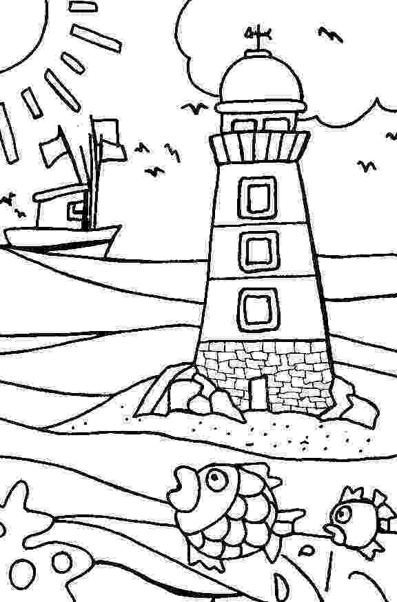 coloring pages of beach scenes free online beach colouring page kids activity sheets coloring beach of scenes pages