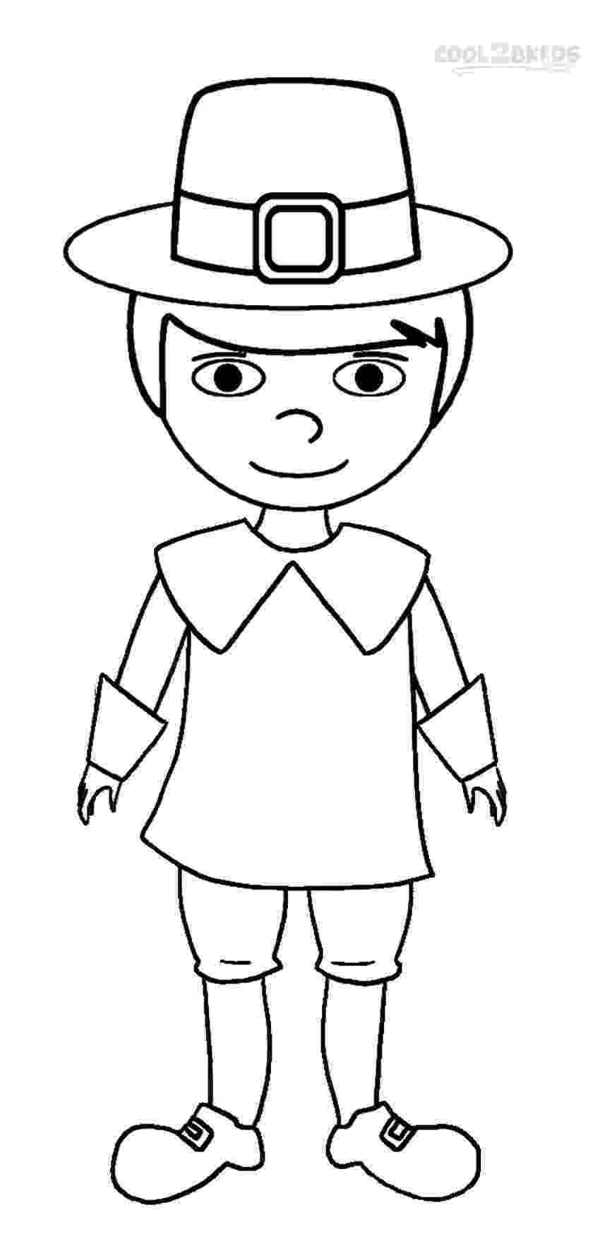coloring pages of boys printable pilgrims coloring pages for kids cool2bkids boys of coloring pages
