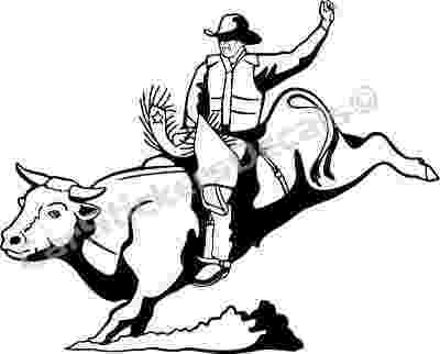 coloring pages of bull riding bull riding coloring pages 03 bull riding coloring pages bull coloring riding of