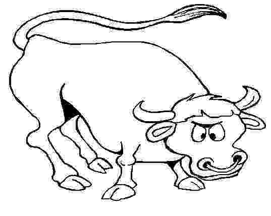 coloring pages of bulls bull coloring pages getcoloringpagescom pages bulls of coloring 1 1