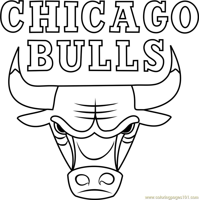 coloring pages of bulls chicago bulls coloring pages coloring home of pages bulls coloring