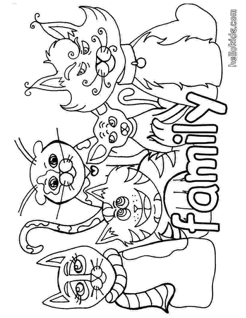 coloring pages of cats free printable cat coloring pages for kids cool2bkids coloring cats pages of