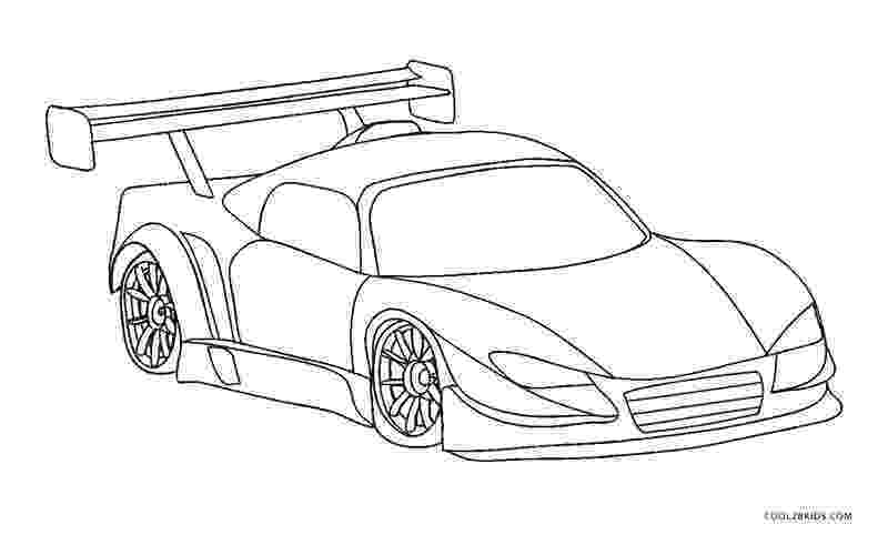 coloring pages of cool cars race car outline drawing at getdrawingscom free for coloring pages cars cool of