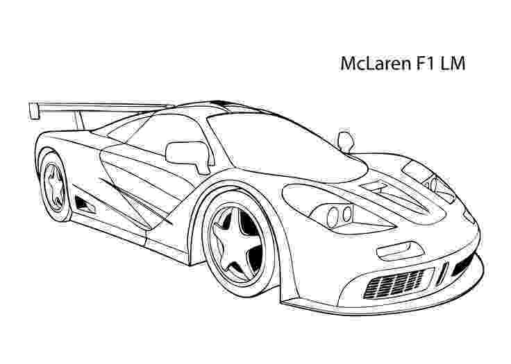 coloring pages of cool cars super car mclaren f1 lm coloring page cool car printable cool of cars pages coloring