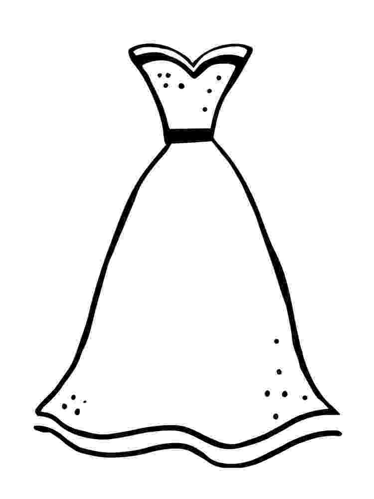 coloring pages of dresses dress coloring pages getcoloringpagescom of pages dresses coloring