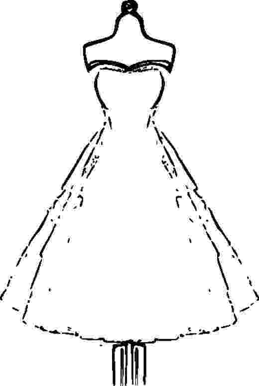 coloring pages of dresses dress lace coloring page for girls printable free dresses coloring of pages