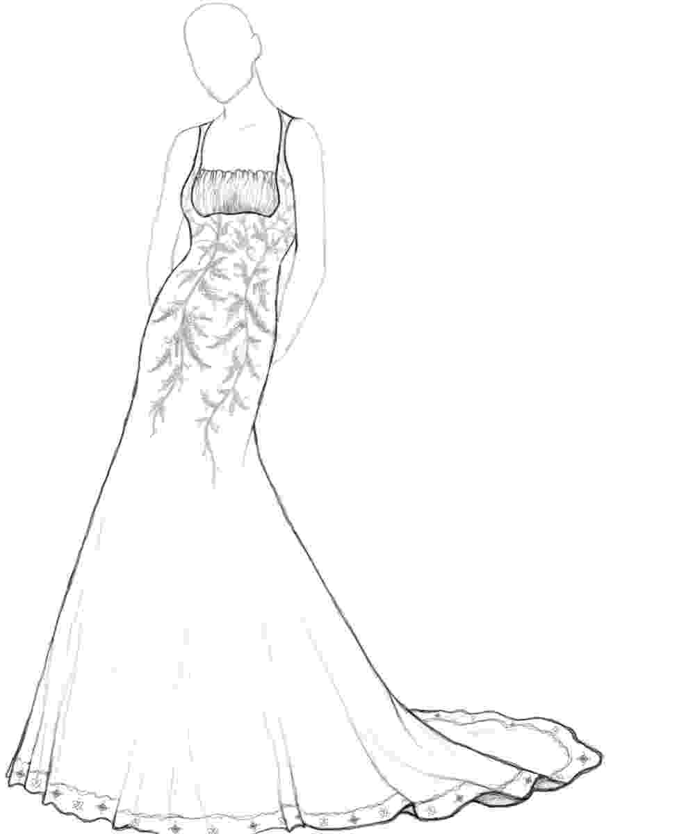 coloring pages of dresses the 309 best fashion coloring pages for adults images on dresses pages of coloring