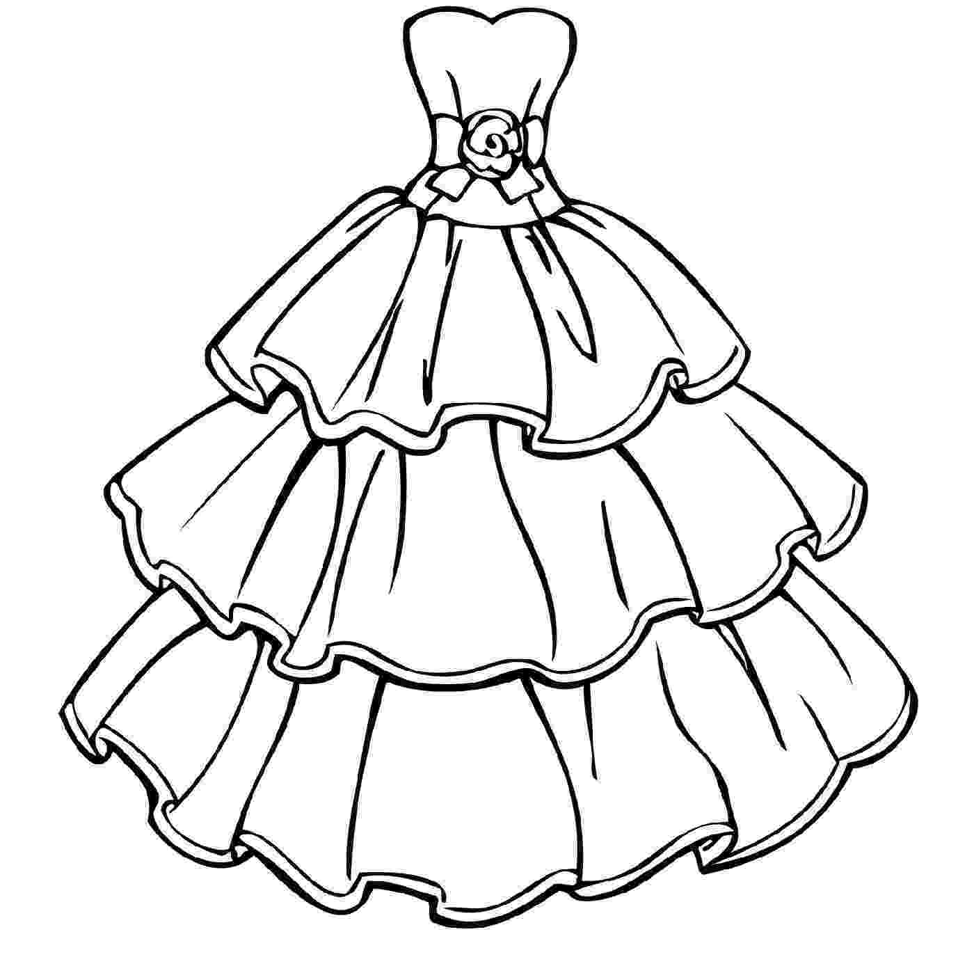 coloring pages of dresses wedding dress coloring pages coloring home of pages dresses coloring