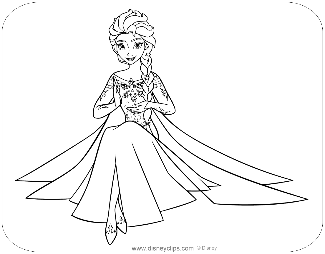 coloring pages of elsa from frozen 15 beautiful disney frozen coloring pages free instant elsa of frozen from pages coloring