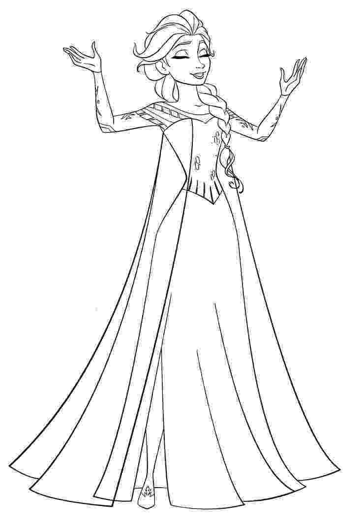coloring pages of elsa from frozen disney frozen coloring pages to download elsa pages frozen of coloring from