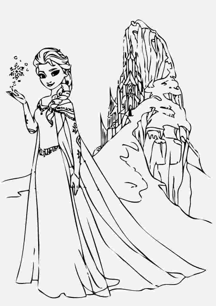 coloring pages of elsa from frozen free printable elsa coloring pages for kids best pages from frozen elsa of coloring