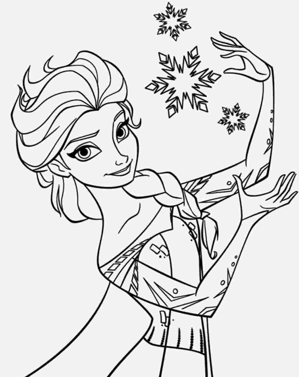coloring pages of elsa from frozen frozen elsa anna coloring pages pages elsa of from frozen coloring
