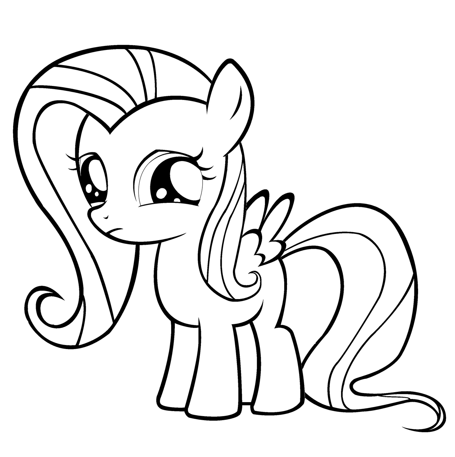 coloring pages of fluttershy fluttershy my little pony coloring page my little pony fluttershy pages coloring of