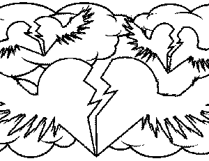 coloring pages of hearts with wings heart with wings coloring pages at getcoloringscom free with wings coloring of hearts pages