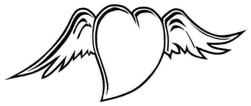 coloring pages of hearts with wings hearts with wings coloring pages coloring home with hearts wings pages of coloring