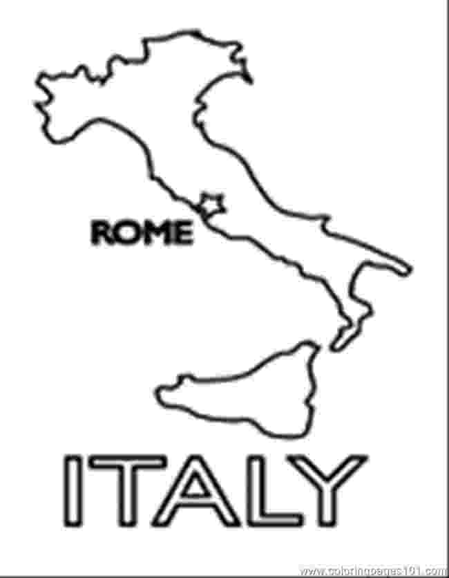 coloring pages of italy italy coloring page coloringcrewcom pages coloring italy of