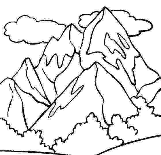 coloring pages of mountains coloring pages of mountains coloring pages of mountains