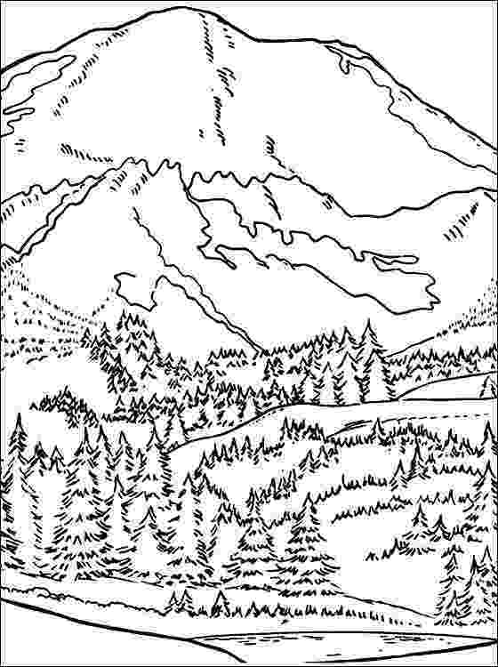 coloring pages of mountains geography blog letter m coloring pages mountains coloring pages of