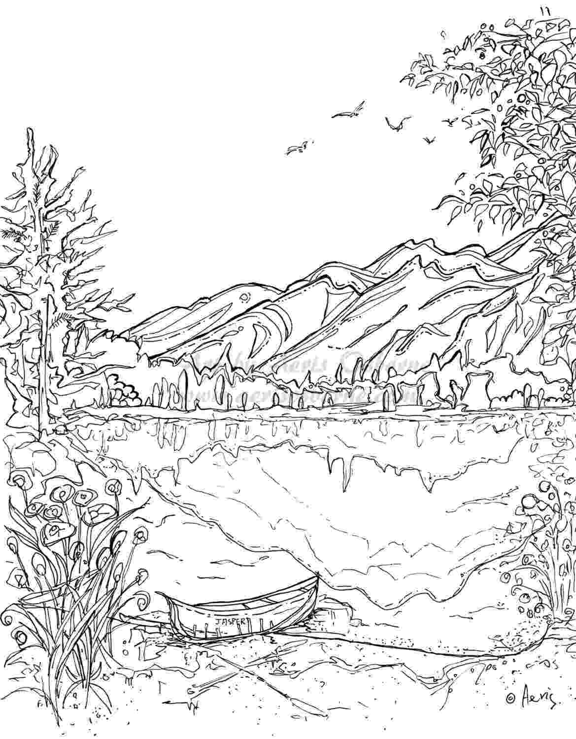 coloring pages of mountains mountain coloring pages for kids mountain mountain pages mountains coloring of