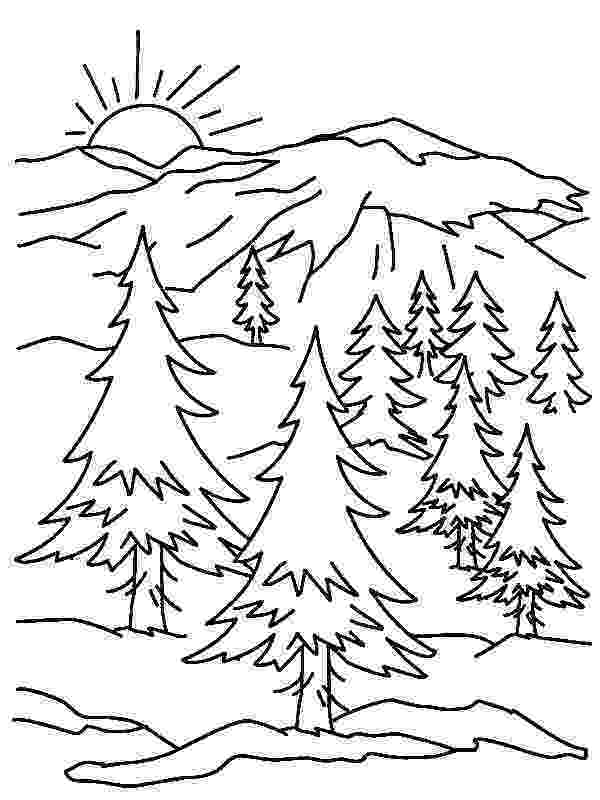 coloring pages of mountains mountain pictures mountains coloring page mountains pages coloring of