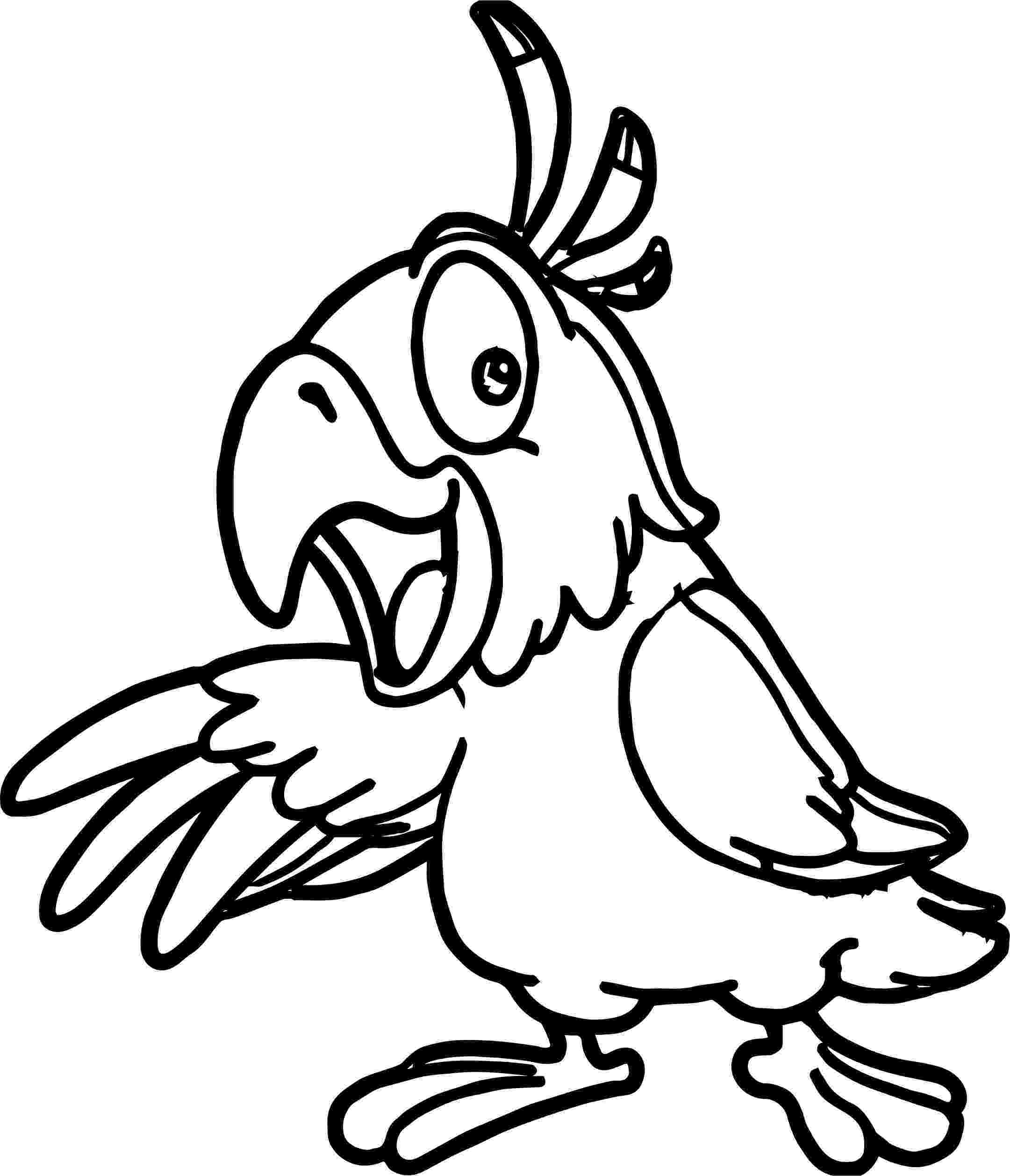 coloring pages of parrots parrot bird coloring pages wecoloringpagecom pages of parrots coloring
